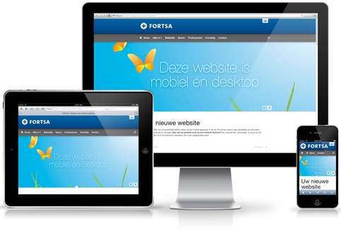 Website en hosting Fortsa